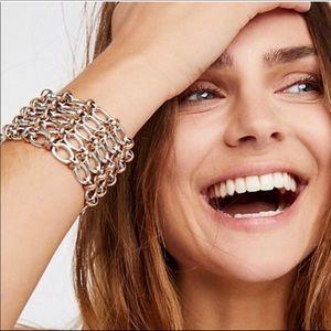 Free People wide bracelet!
